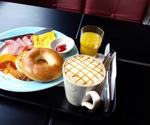 bagel, breakfast, and food image