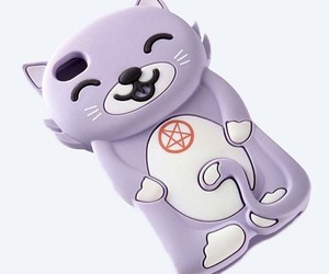 cat, kawaii, and phone case image