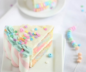 cake, sweet, and food image