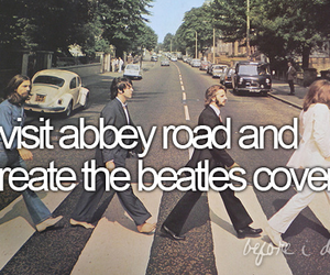 beatles, abbey road, and before i die image