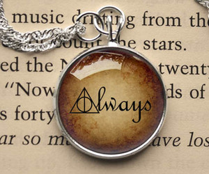 always, colar, and harry potter image