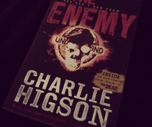 book, zombie, and charlie higson image