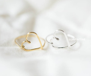 jewelry, ring, and sterling silver image