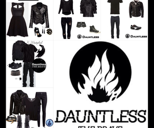 divergent, dauntless, and dauntlesscake image