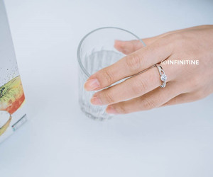 jewelry, anniversary ring, and bridesmaid ring image