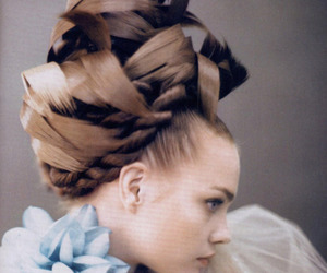 fashion, hair, and model image