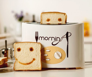 happy, morning, and smile image