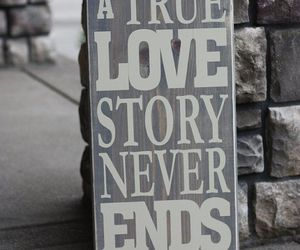 love, quote, and end image