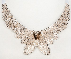 collar, fashion necklace, and fashion collar necklace image
