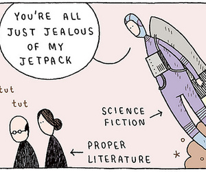 funny, literature, and science fiction image