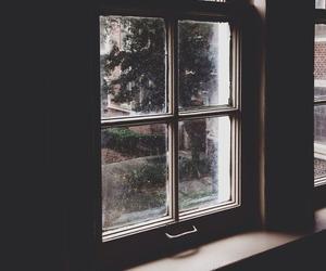 vintage, window, and grunge image