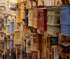 architecture, balcony, and cityscape image