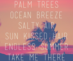 summer, ocean, and quotes image
