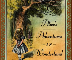 book, alice, and wonderland image