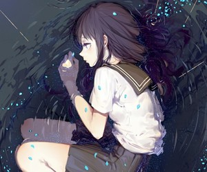 anime, anime girl, and hyouka image
