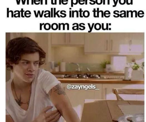 one direction, funny, and hate image