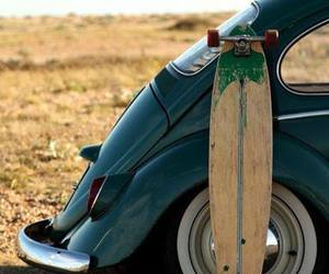 car, fusca, and surf image