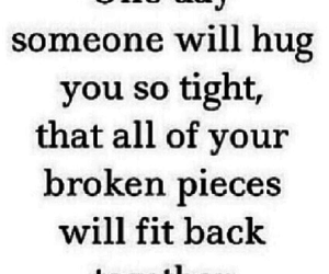 hug, love, and broken image