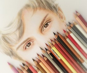 art, colors, and evan peters image