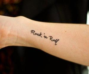 tattoo and rock image
