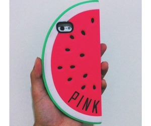 case, pink, and fruit image