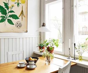 dining table, kitchen, and interior image