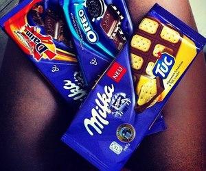 chocolate, oreo, and milka image