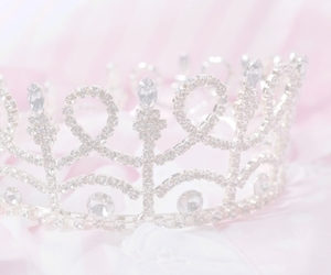 pink, princess, and crown image