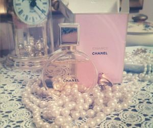 chanel, pink, and sweet image