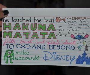 disney, quote, and hakuna matata image