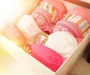 pink, bikini, and summer image
