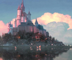 disney, castle, and tangled image