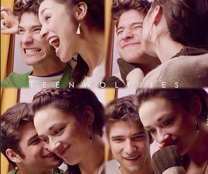 happy, allison argent, and teen wolf image