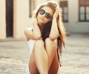 beautiful, summer, and girl image