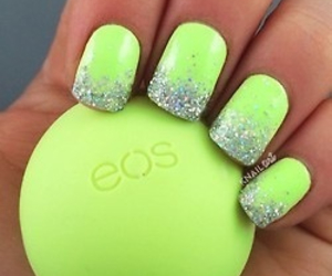 nails, eos, and neon image