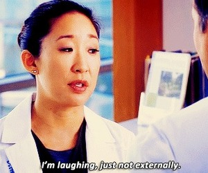 grey's anatomy, cristina yang, and funny image