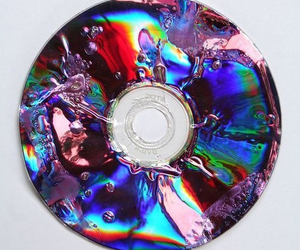 cd, grunge, and colors image
