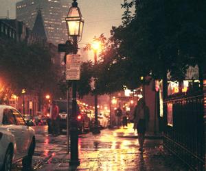 city, night, and london image