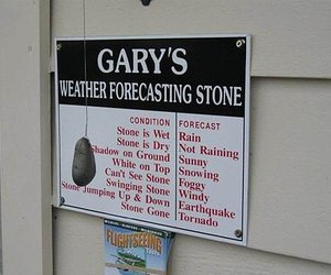 funny, stone, and weather image