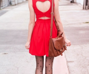 dress, cute, and heart image
