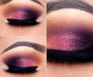 fashion, make up, and glitter image