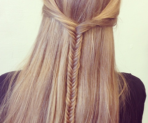 beautiful, blonde, and fishtail image