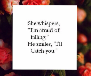 love, catch, and falling image