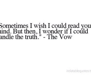 quote, the vow, and love image