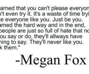 life, megan fox, and quote image