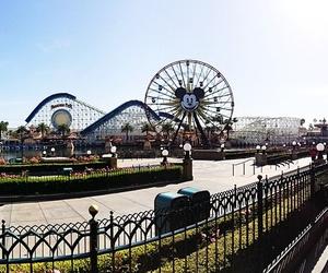Roller Coaster, theme park, and disney land image