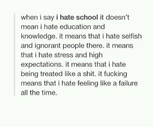 school and tumblr post image