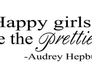 girl, happy, and quote image