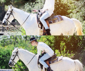 justin bieber, horse, and justin image
