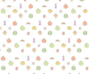 pattern, vegetables, and cute image